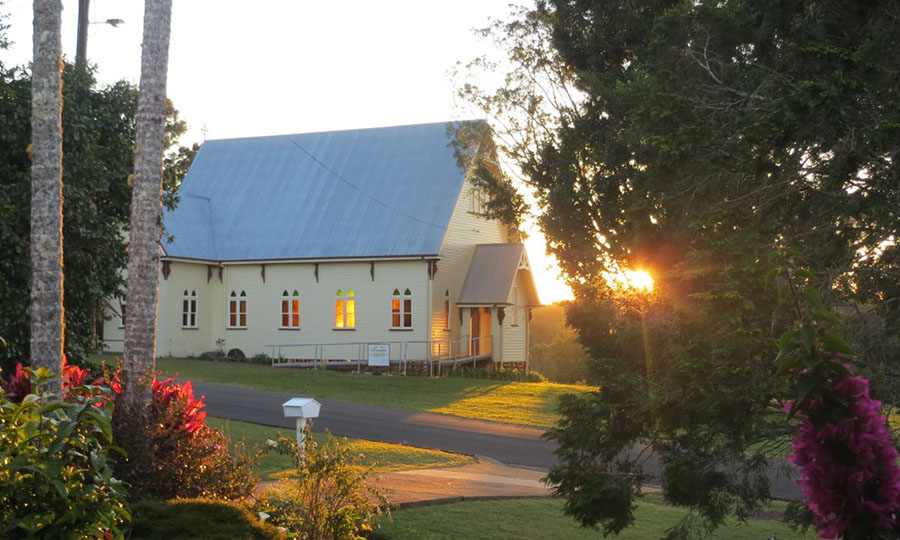 St James' Church, Malanda, taken by our neighbour Gunnar Risla in 2014.
